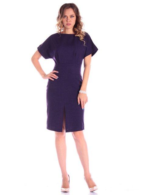 Сукня темно-фіолетового кольору Victoria Loks 3581083
