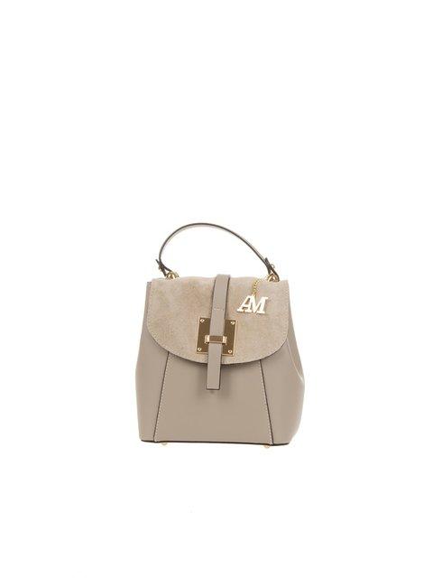 Рюкзак кольору фанго Antonia Moretti 3582739