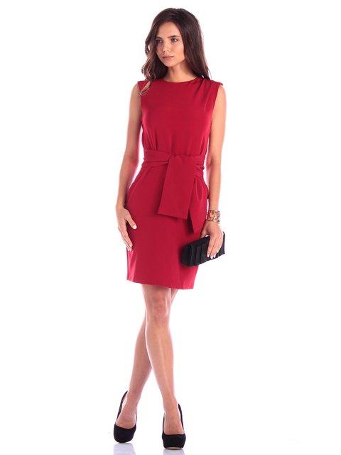 Платье вишневого цвета Rebecca Tatti 3591910