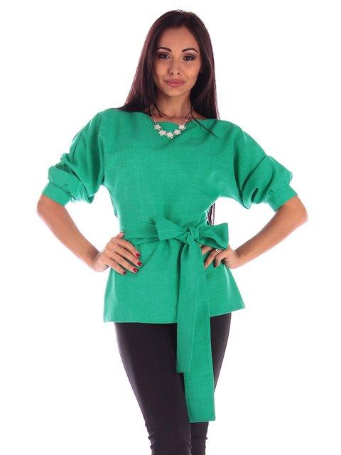 Блуза зеленая Laura Bettini 3596249