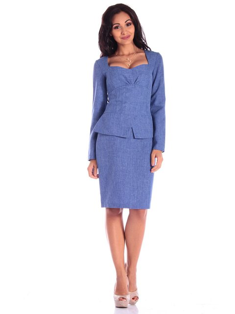 Платье синее Laura Bettini 3608695