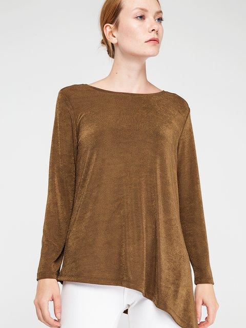 Блуза цвета хаки BGN 3606441