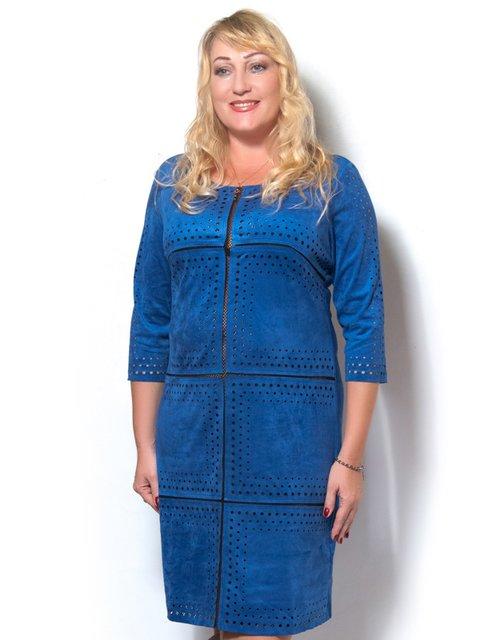 Платье цвета электрик LibeAmore 3615038