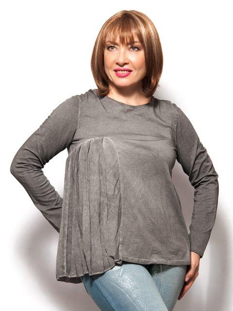 Блуза темно-сіра LibeAmore 3615049