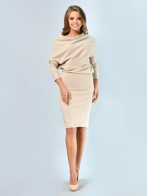 Платье песочного цвета LILA KASS 3621919