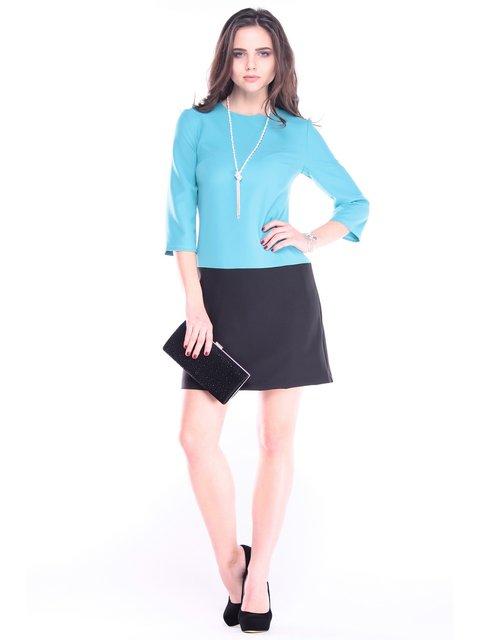 Платье цвета зеленой бирюзы Rebecca Tatti 2996599