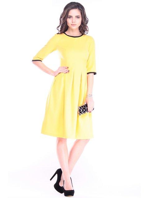 Платье жетлое Laura Bettini 3086053