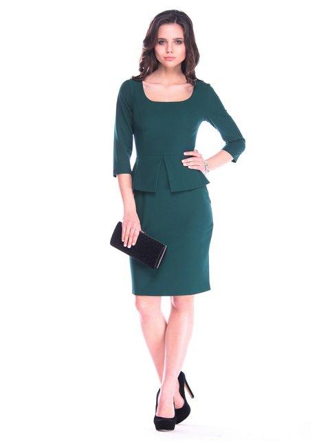 Платье темно-изумрудное Laura Bettini 3172681