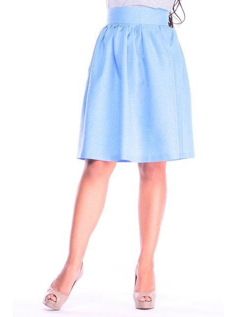 Спідниця блакитна Laura Bettini 3262197