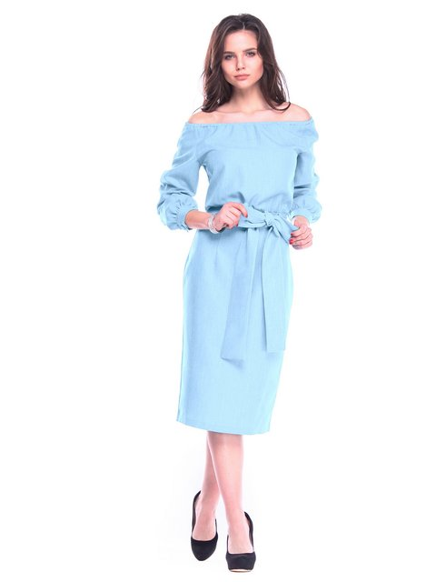 Сукня блакитна Rebecca Tatti 3262380