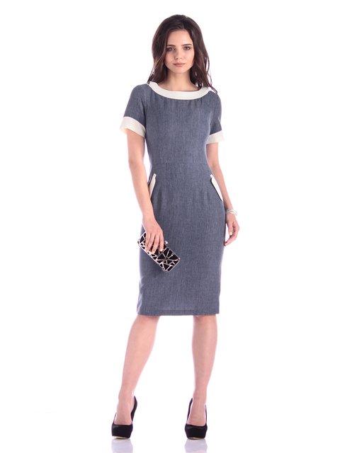 Сукня кольору темно-синій графіт Laura Bettini 3304805