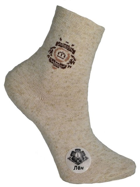 Шкарпетки бежеві Misyurenko 3630725