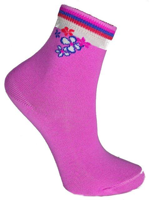 Шкарпетки бузкові Классик 3630911