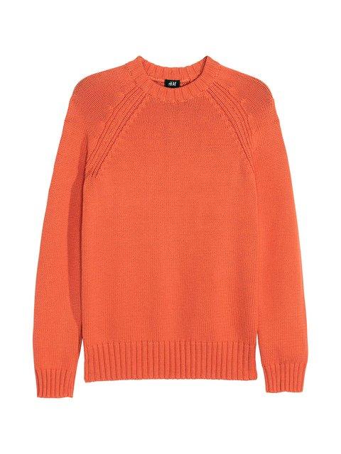 Джемпер оранжевый H&M 3615541