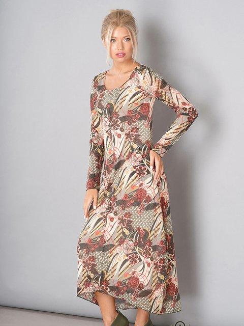Платье в принт Lesya 3168063