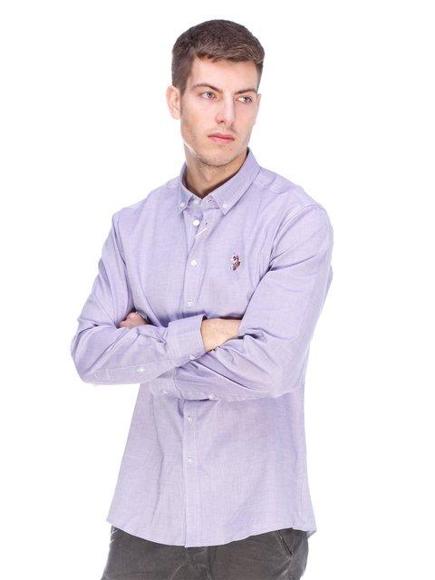 Сорочка фіолетова U.S. Polo Assn. 3623665