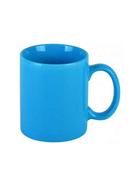 Чашка блакитна керамічна (350 мл) Trendy 3645265