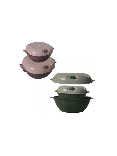 Набір контейнерів для зберігання продуктів (2 шт.) Trendy 3645281