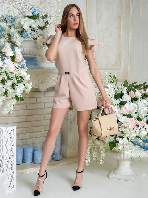 Комбинезон бежевый First Land Fashion 3646434
