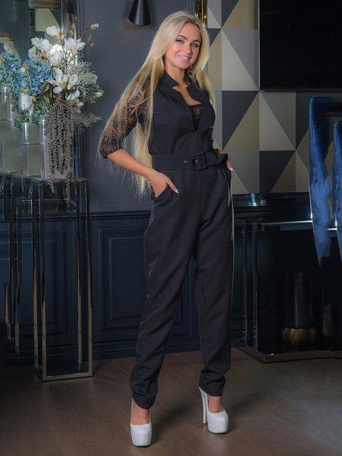 Комбинезон черный First Land Fashion 3646498