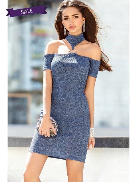 Платье синее Gepur 3344400