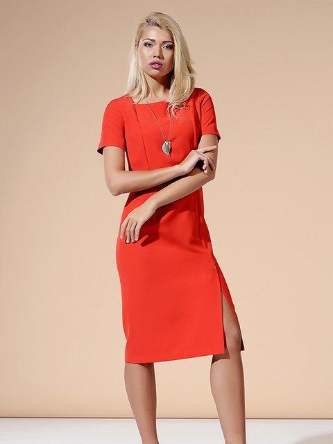 Платье красное Lesya 3168013