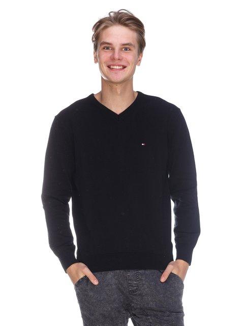 Пуловер чорний Tommy Hilfiger 3636178