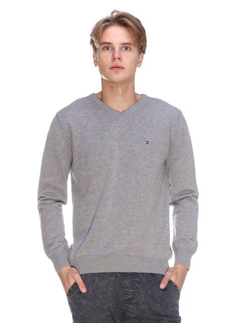 Пуловер cірий Tommy Hilfiger 3636179