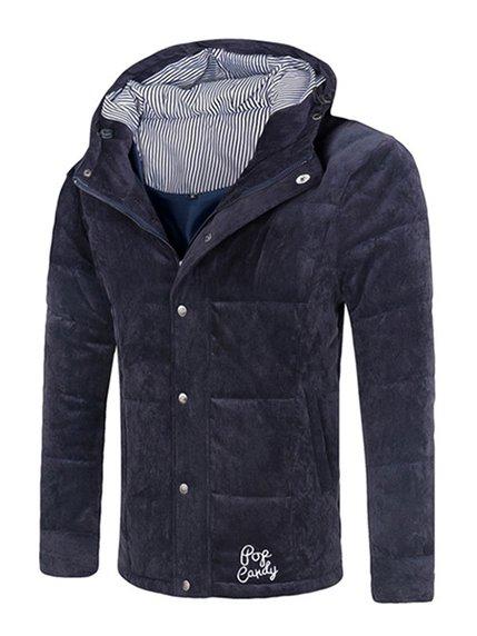 Куртка темно-синя Dreams are for real 3666714