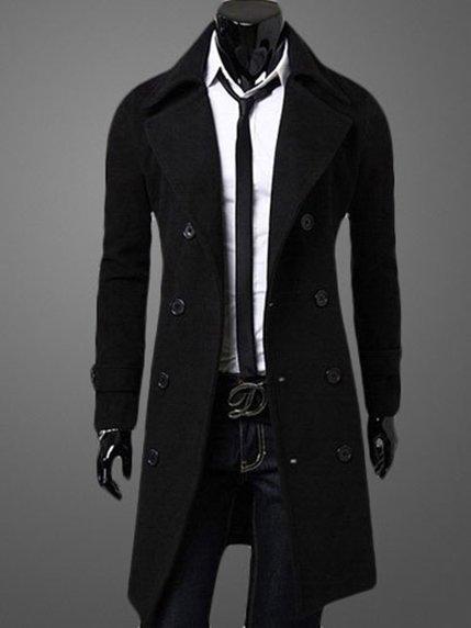 Пальто черное Maxmore 3666776