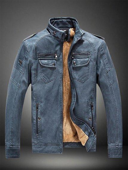 Куртка синя Maxmore 3666831