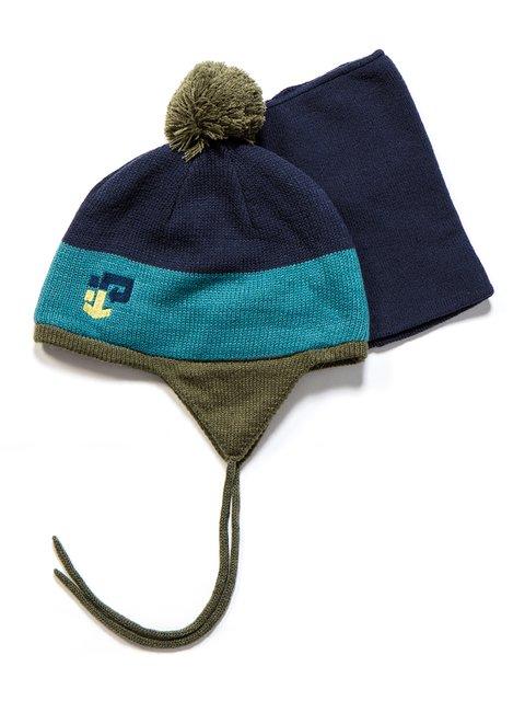 Комплект: шапка и манишка Peluche & Tartine 3670952