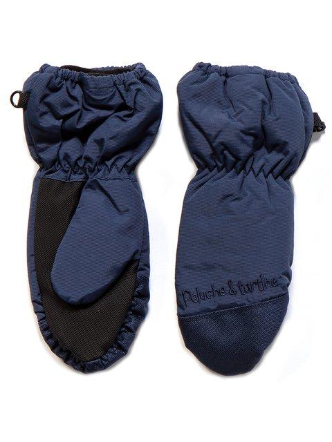 Рукавицы темно-синие Peluche & Tartine 3670942