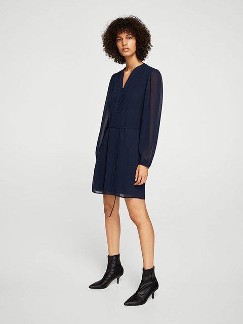 Сукня темно-синя Mango 3623519
