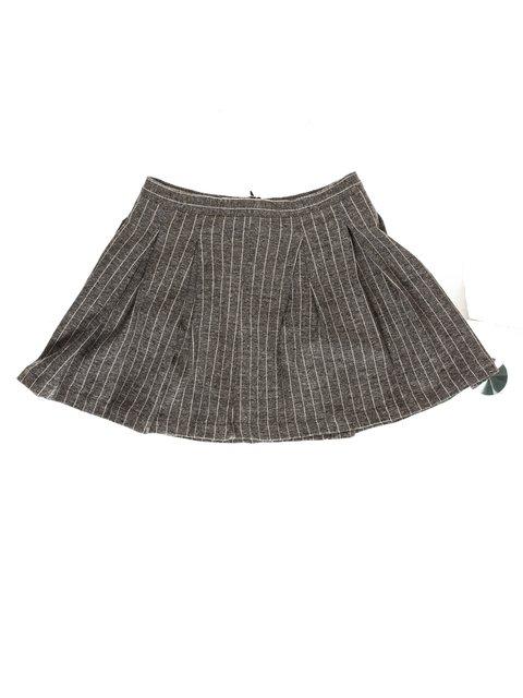 Юбка серая в полоску Zara Kids 3606023