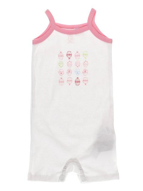 Комбинезон белый в принт Zara Kids 3605904