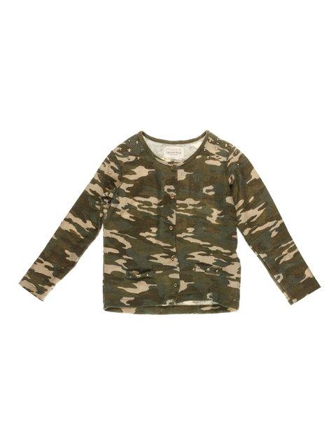 Кофта в камуфляжний принт Zara Kids 3608528