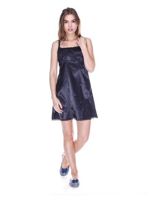 Рубашка ночная черная Fleri 3663154