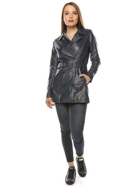 Куртка темно-синя L.Y.N.N by Carla Ferreri 3674408