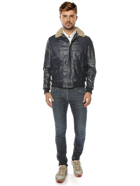 Куртка темно-синя L.Y.N.N by Carla Ferreri 3674467