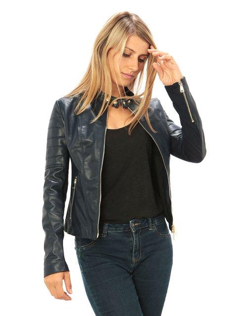 Куртка темно-синя Viola Castellani 3667013