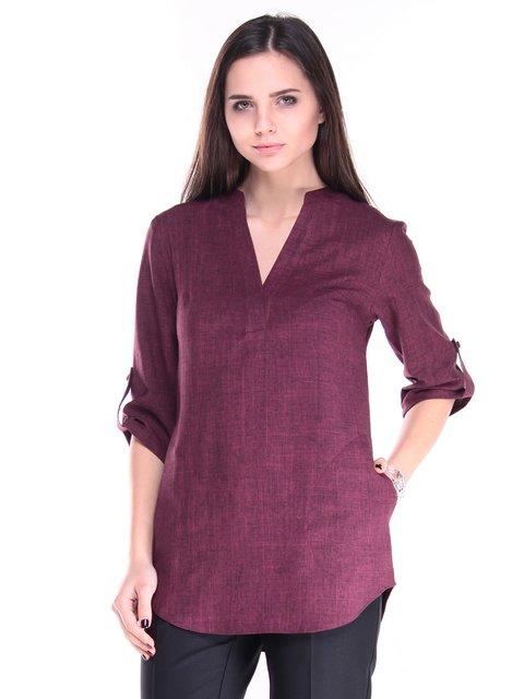 Блуза сливового цвета Laura Bettini 3121283