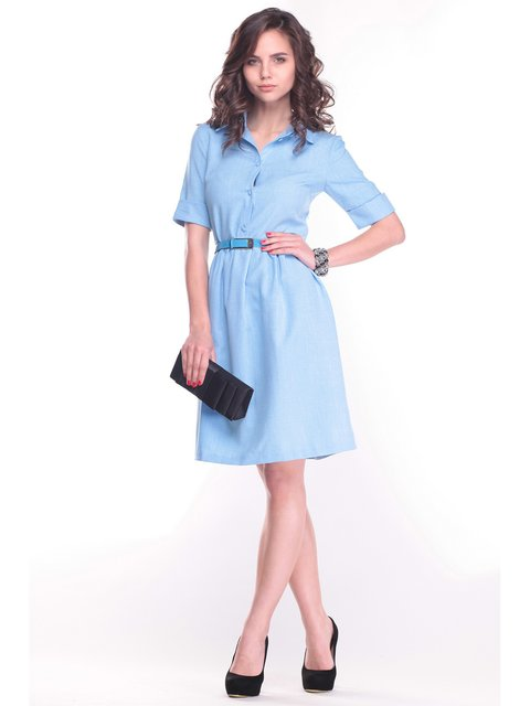 Платье голубое Dioni 3678877