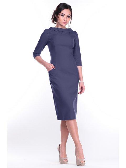 Сукня темно-синя Maurini 3678964