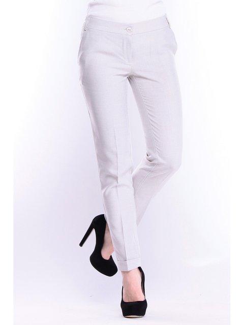 Штани біло-сірого кольору Rebecca Tatti 3678983