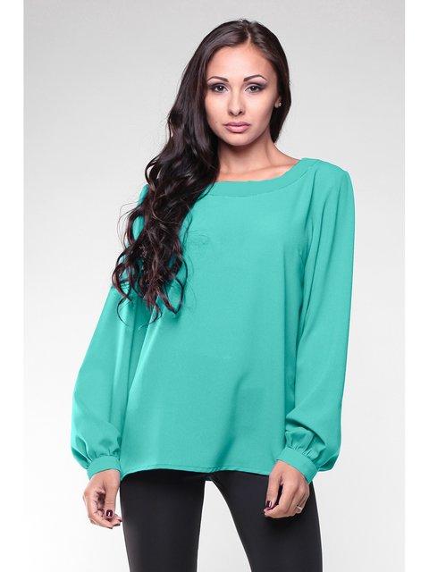 Блуза ментолового кольору Rebecca Tatti 3678992