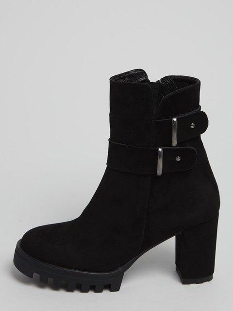 Ботинки черные ONOUQO 3674294