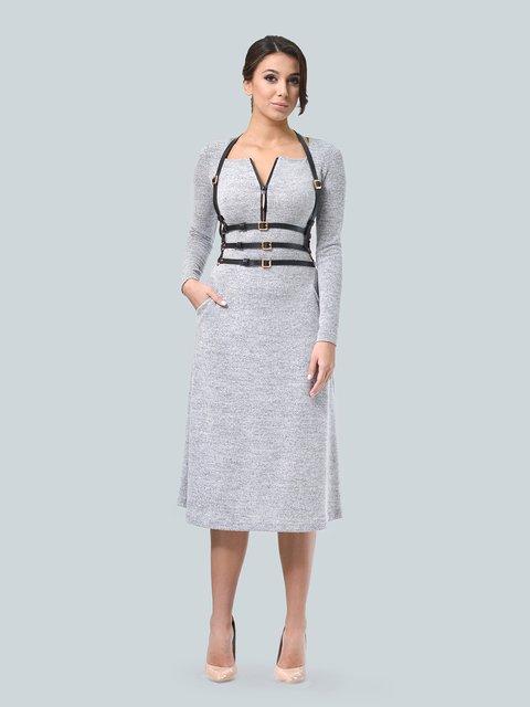 Платье светло-серое LILA KASS 3683573
