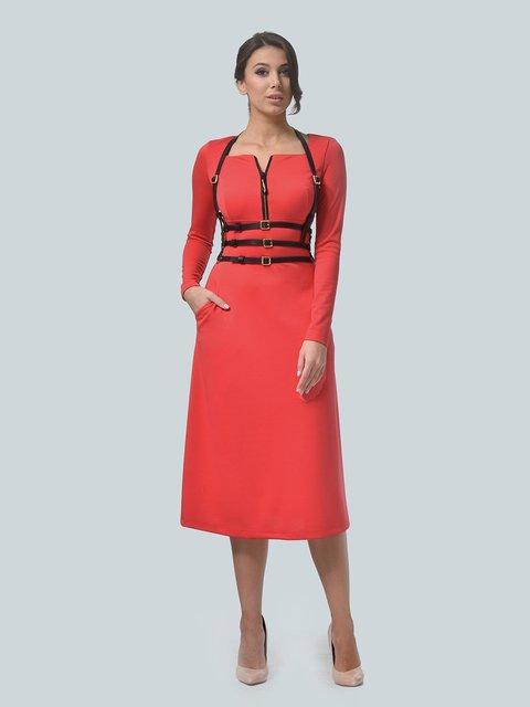 Платье коралловое LILA KASS 3683581