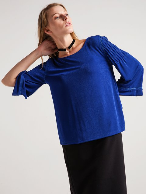 Блуза цвета морской волны BGN 3682900